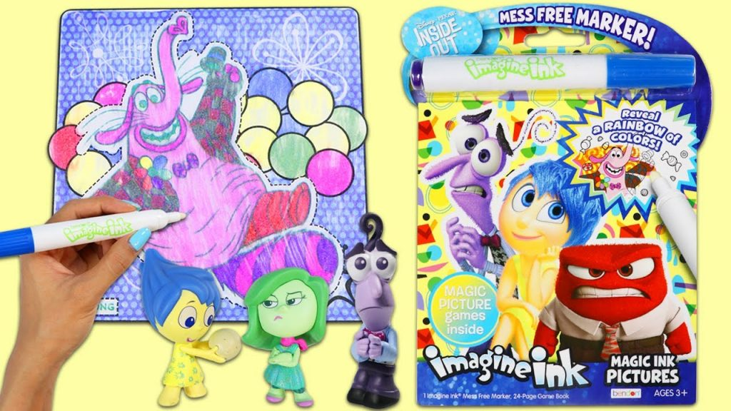 IMAGINE INK Disney Pixar Inside Out Magic Marker Coloring and Activity book!