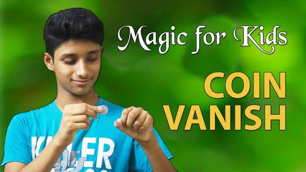 magic for kids, Coin Vanish, magician Suhrid Hasan
