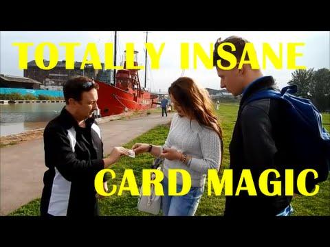Street Magic / Wedding Magicians Magic /Angle Z Card Trick | Andy Field Magic