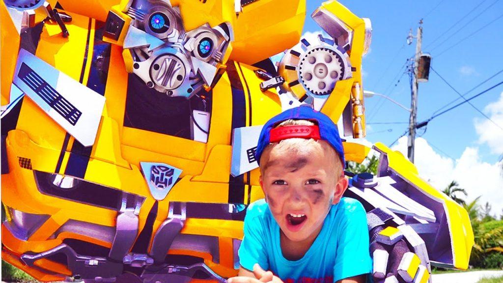 Bad Baby & Transformers vs Aliens Трансформеры против Инопланетян