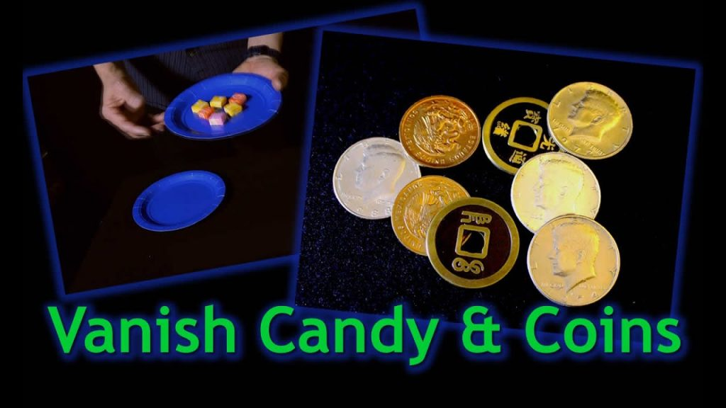 Vanish Candy and Coins – Easy Magic Trick