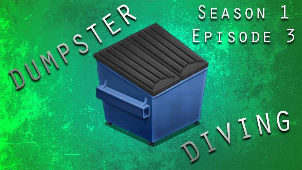 DUMPSTER DIVING – S1:E3 – HUNDREDS OF MAGIC CARDS, XBOX GAMES, AND LEGOS!!!!