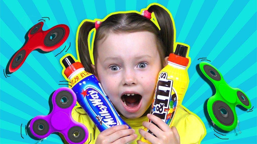 Вредные детки СПИННЕР Bad Kids Magic Fidget Spinner Учим цвета Johny Nursery Rhymes Видео для детей