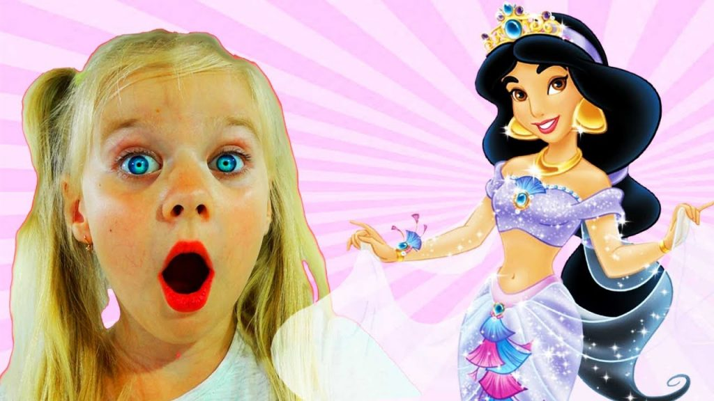 Learn Colors with Baby Doll Magic Princess Johny Johny YES Papa Song Nursery Rhymes for Bad Kids