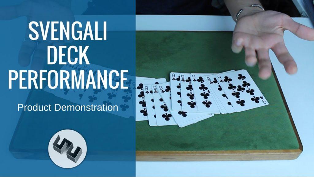 Svengali Deck Magic Trick PERFORMANCE [HD]
