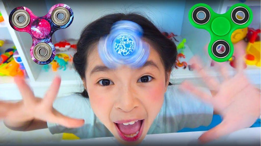 Bad Baby Magic Fidget Spinner Johny Johny Yes Papa Song Playground for kids