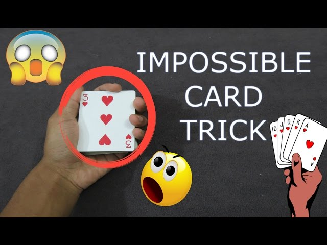 IMPOSSIBLE SELF-WORKING CARD TRICK – Works 100 % Of The Time!!