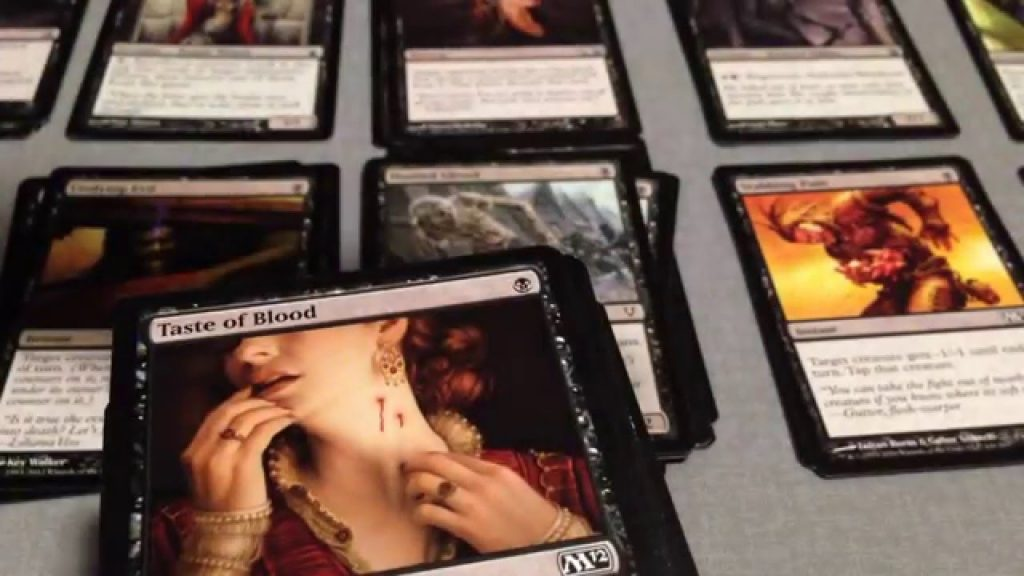 ASMR: Magic the Gathering Card Sorting (Card Sounds, Tapping, Whisper)