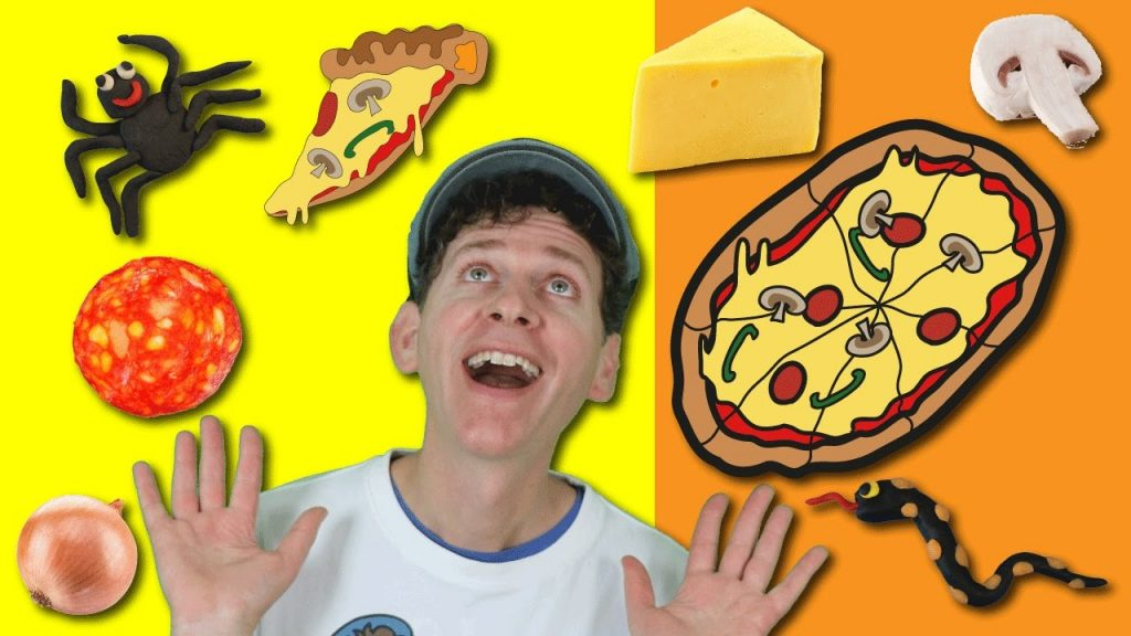 Magic Pizza Song with Matt | Food Song for Children | Learn English Kids