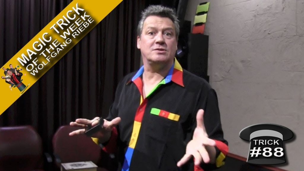 Magic Trick of the Week #88 (Vanishing Deck of Cards) with Wolfgang Riebe