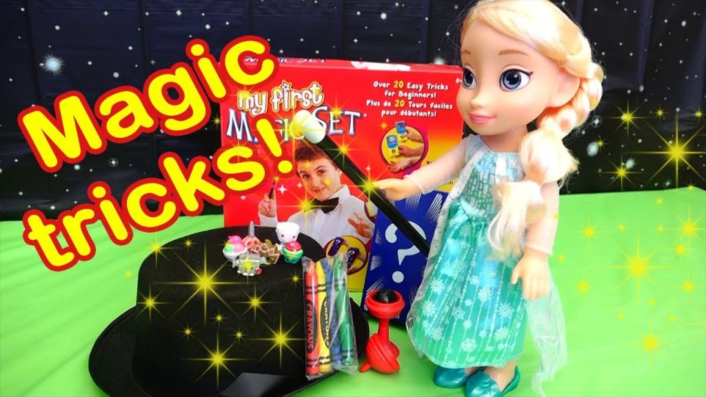 Elsa's Magic Tricks for Kids Explained by Kids Toys Channel Stories With Toys & Dolls
