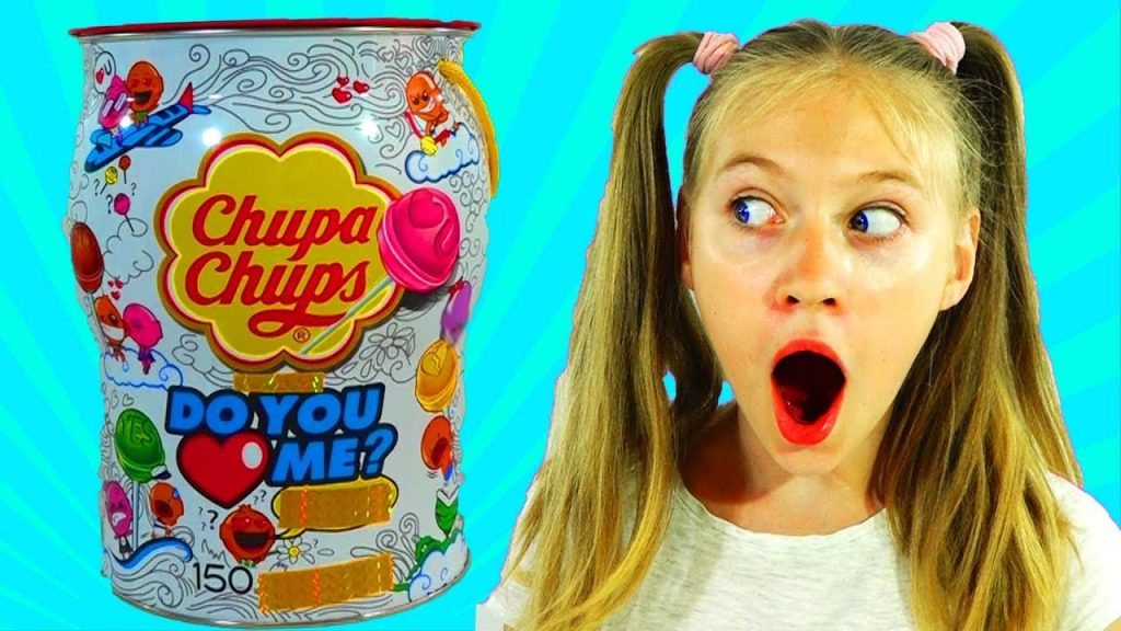Funny BABY Prank Bad baby GIANT Magic Box Cake CHUPA CHUPS Color Candy for KIDS