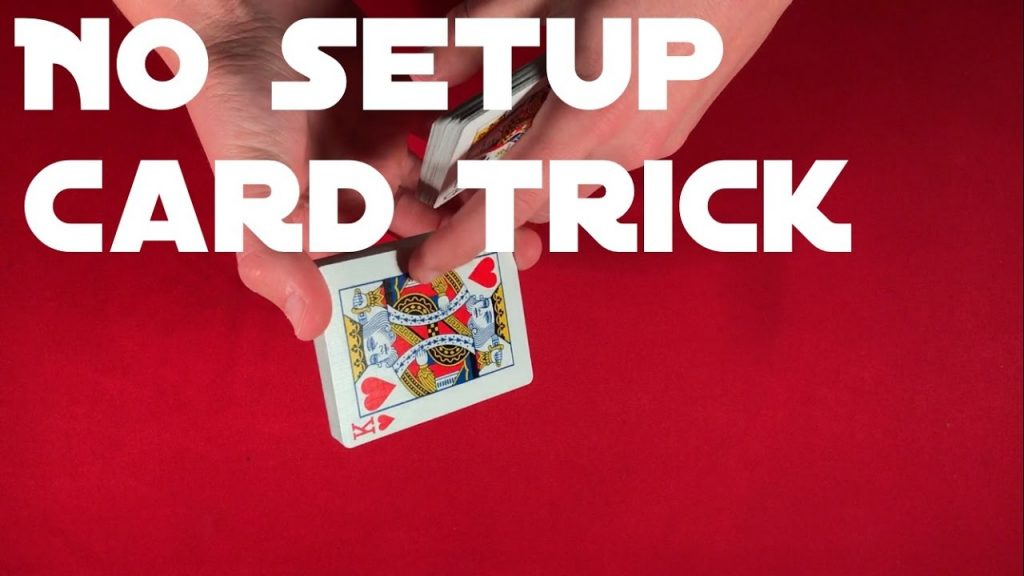 Great No-Setup Card Trick!