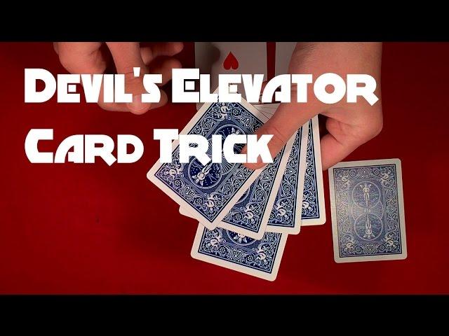 Devil's Elevator Card Trick REVEALED!