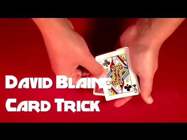 Easy David Blaine Signed Card Trick REVEALED!!