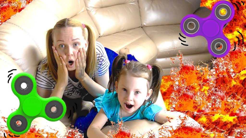 Вредные детки СПИННЕР Bad Kids Magic Fidget Spinner ЛАВА ЧЕЛЛЕНДЖ Учим цвета JOHNY Nursery Rhymes