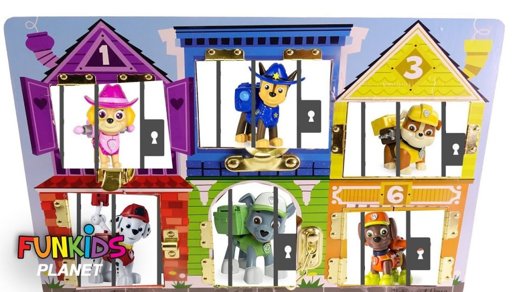 Best Learning Colors Video for Kids: Paw Patrol Jail Rescue Magic Gumballs