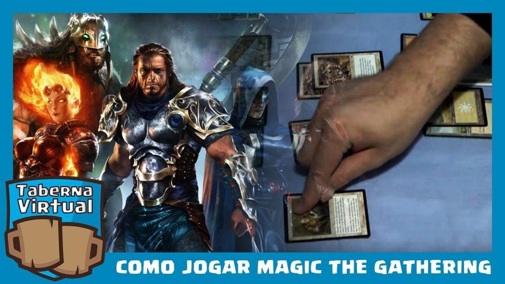 Como jogar Magic The Gathering #1 – Tutorial Básico.