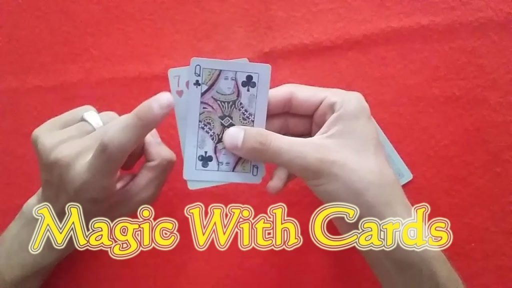 Magic with cards new amazing magic of 2017