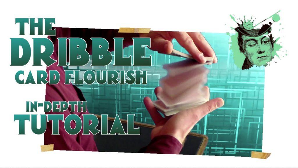 THE DRIBBLE magical card flourish / magic trick tutorial