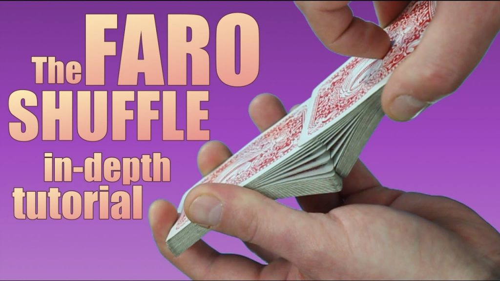 THE FARO CARD SHUFFLE tutorial card magic