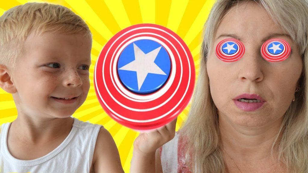 Вредные Детки ЗАГИПНОТИЗИРОВАЛИ Спиннером Маму Bad Kids Magic Fidget Spinner Hypnotize Mommy!