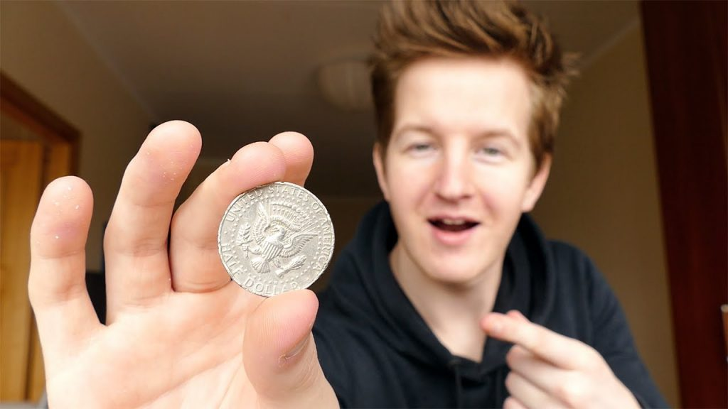 AMAZING COIN TRICK