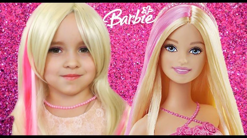 Learn colors with Baby Songs Barbie Doll Magic Transform Finger Family Song Nursery Rhymes kids