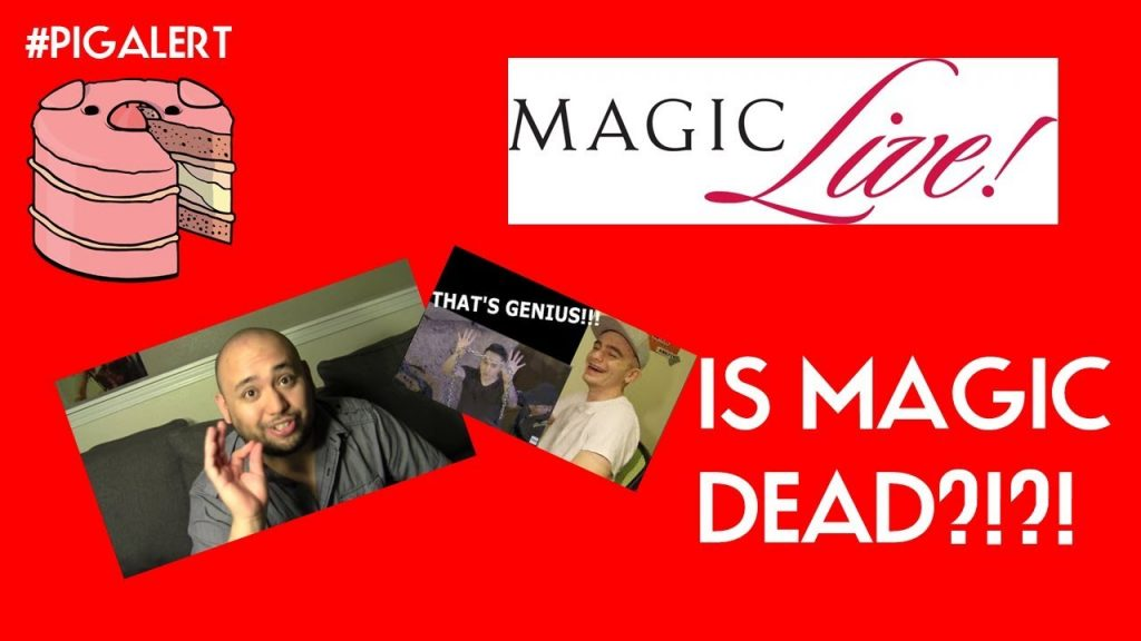 #PIGALERT MAGIC LIVE? MAGICIAN REACTION CHANNELS? ELLUSIONIST REVIEW! KIDS LOSING MAGIC