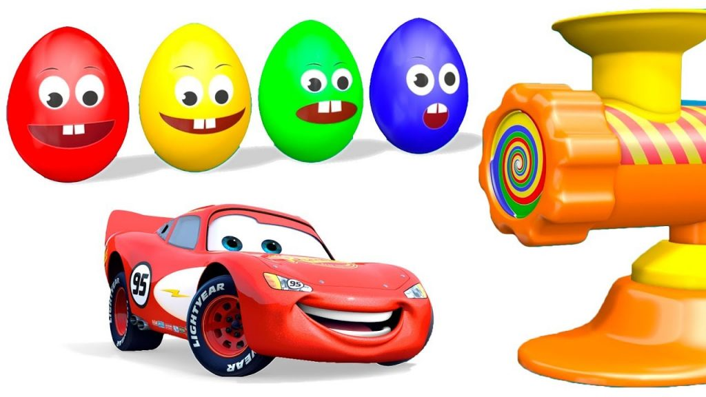 McQueen and Magic Surprise Eggs – Learn Colors for Kids Children Toddlers