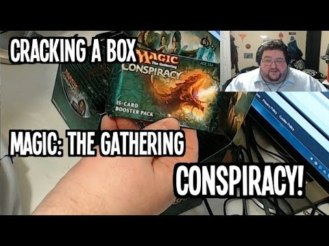 Opening a BOX of CONSPIRACY Boosters for Magic the gathering