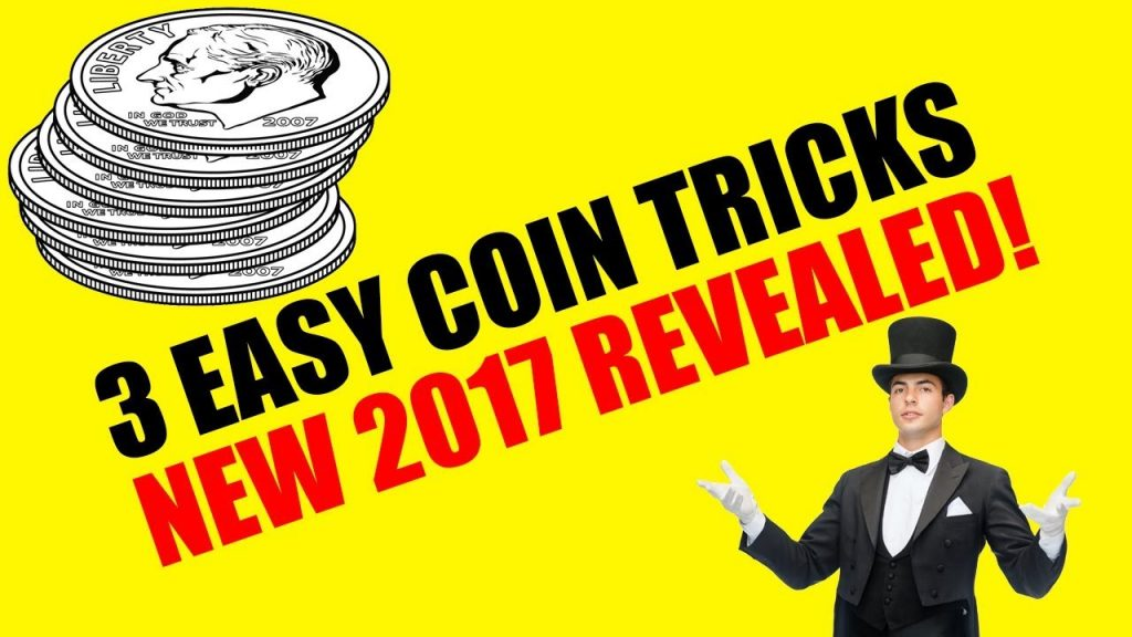 3 EASY Coin Tricks to Fool Anyone 2017 – Magic Tricks REVEALED