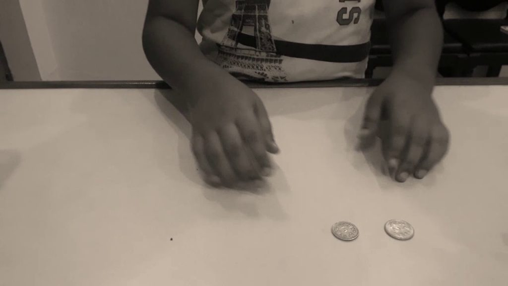 See MAGIC with coins