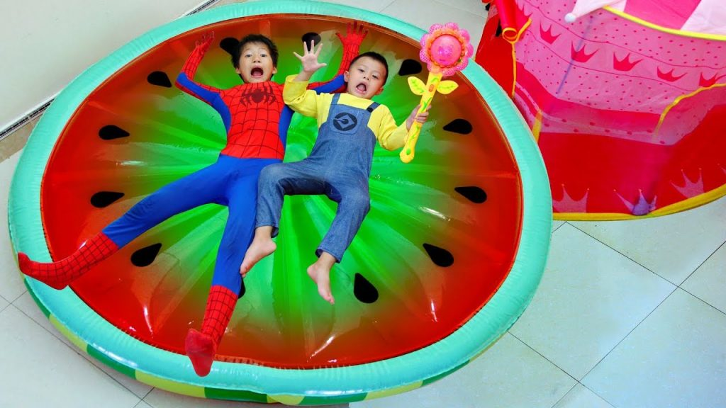 Bad Kid Magic Transform Food in Bedroom for Baby Song Nursery Rhyme Johny Johny Yes Papa