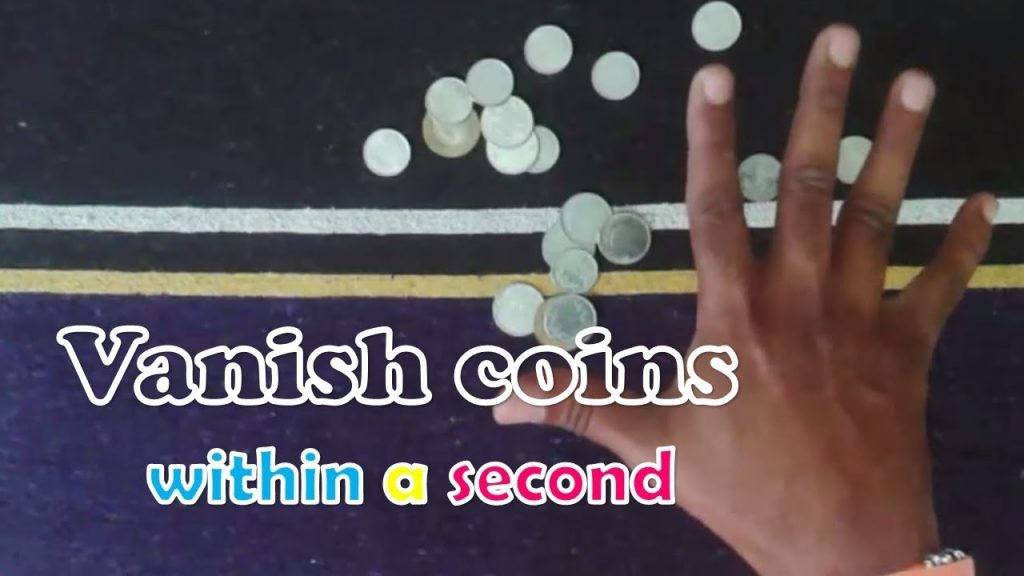 Funny Magic With Coins