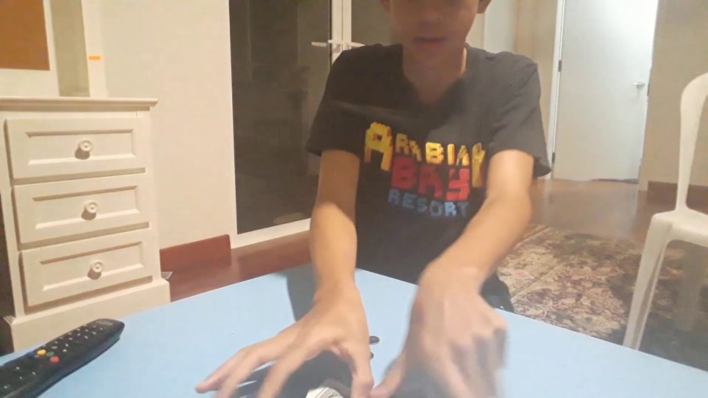 Magic matrix card and coins easy