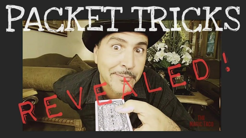 3 BEST PACKET CARD TRICKS REVEALED! Easy to do…!