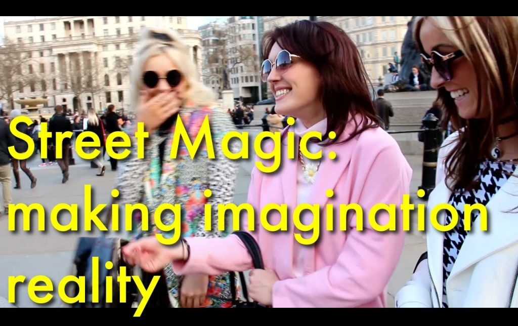Amazing card trick with Invisible deck of cards | Street magic