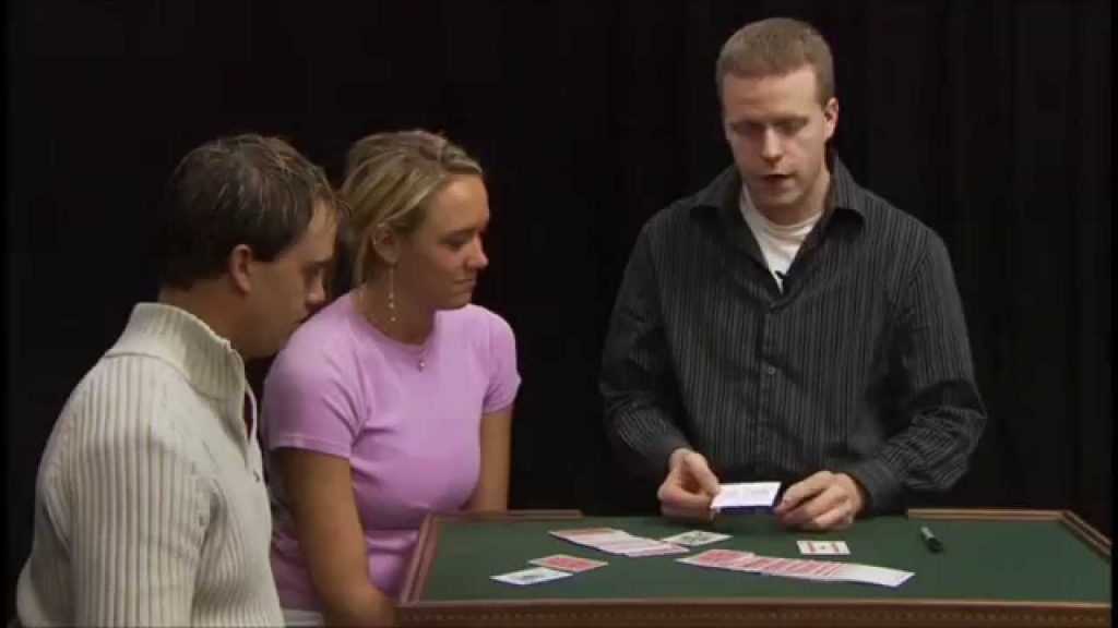 Eddy Ray's Business Card Magic Trick