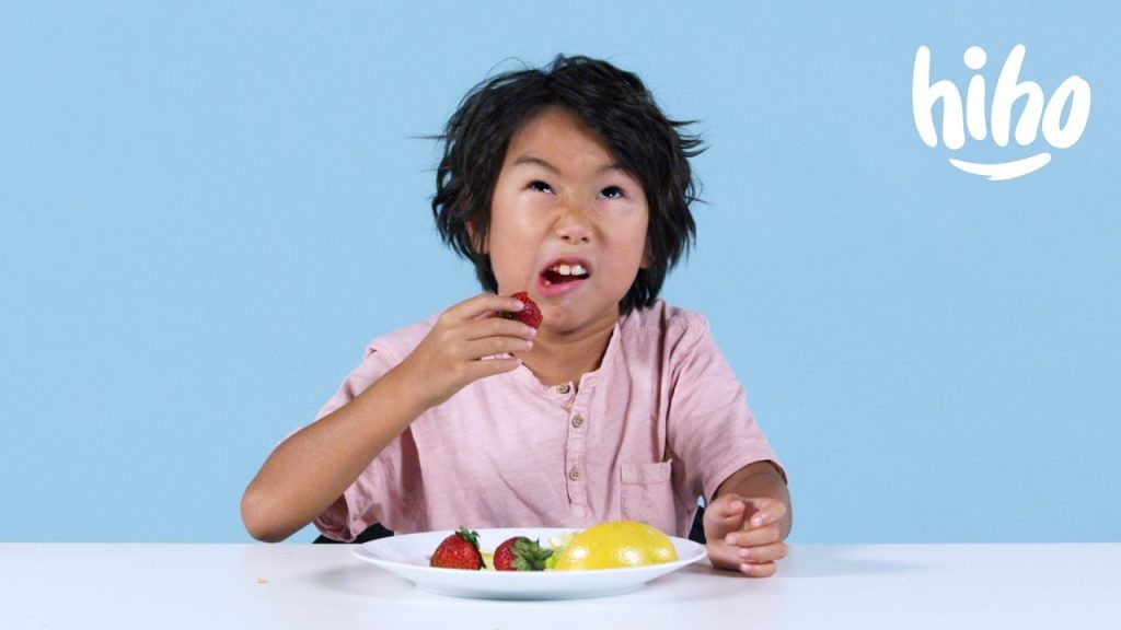 Kids Try Miracle Berries