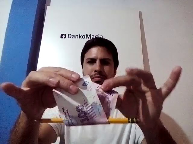 DANKO . Magia con  billete . Magic with money . MAGIC TRICK