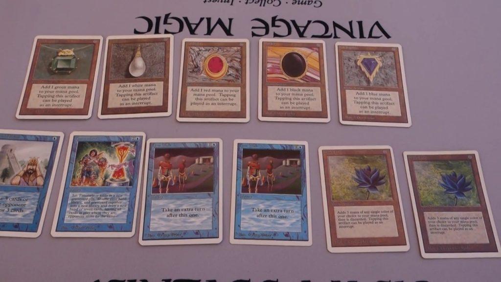 FAKE Power 9 {Black Lotus, Mox…} Unlimited Magic (MTG) Cards w/ALPHA CUT corners? | Part 1 of 2