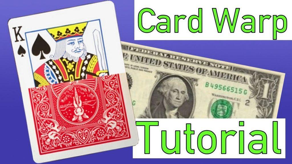 IMPOSSIBLE CARD WARP – MAGIC TUTORIAL