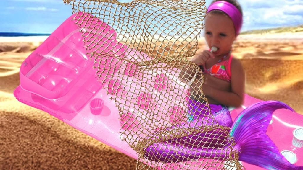 Bad Kid Magic Transform The Mermaid in Pool Finger Family Song Nursery Rhyme Playground