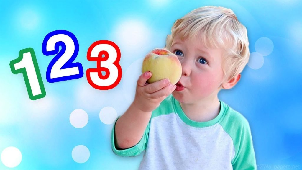 Counting Numbers 12345678910 Magic for Kids Learn with Colors Counting Videos Spelling Number Clock