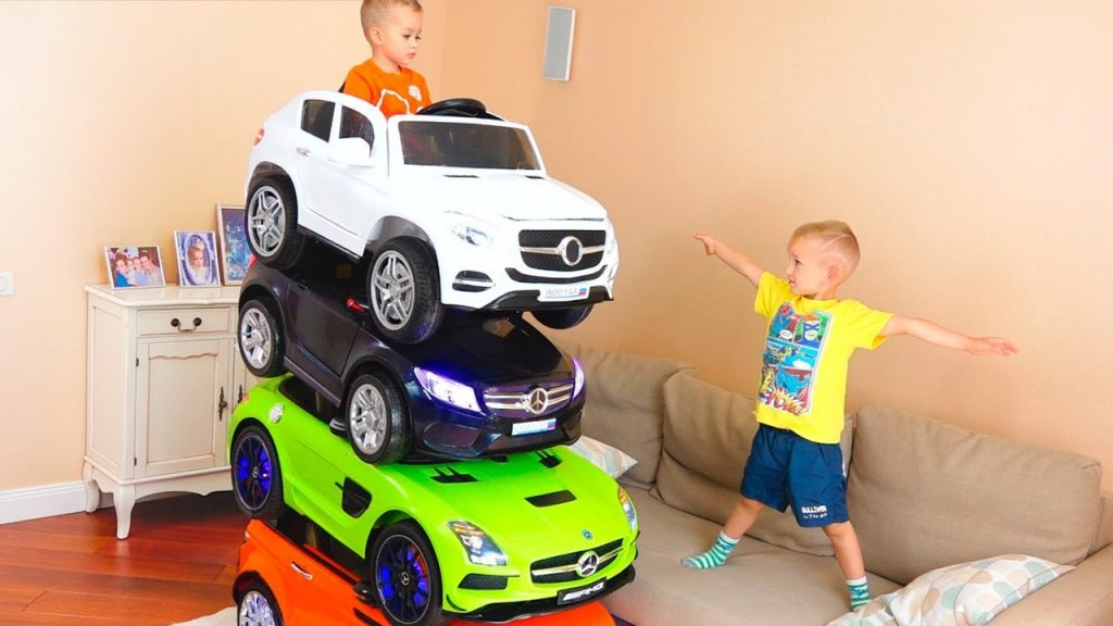 Bad Kids Magic Little Driver on Power Wheels Cars Transform Colored Cars, Fun Playtime