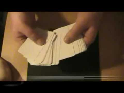 Invisible Blank Magic Vanish Cards Trick