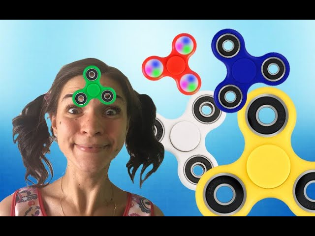 Learn Colors with Bad Baby Magic Fidget Spinner Hypnotize Kids Nursery Rhymes Song for Children