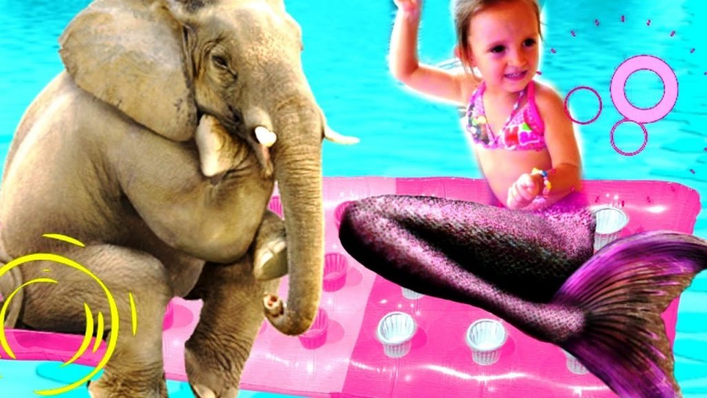 Bad Kid Magic Transform The Mermaid  Outdoor Playground Nursery Rhymes for kids