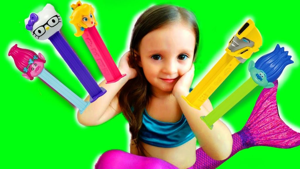 Bad Baby Live mermaid Nursery Rhymes  Song Baby mermaid playground for kids